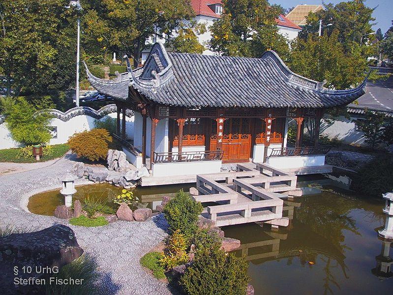 Chinesischer Garten In Stuttgart